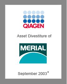 Qiagen 2003 - Catalysis Capital